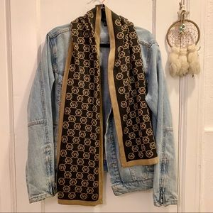 Michael Kors Scarf Brown